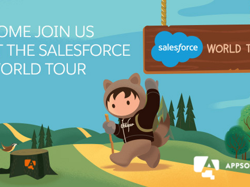 Come join us at the Salesforce World Tour